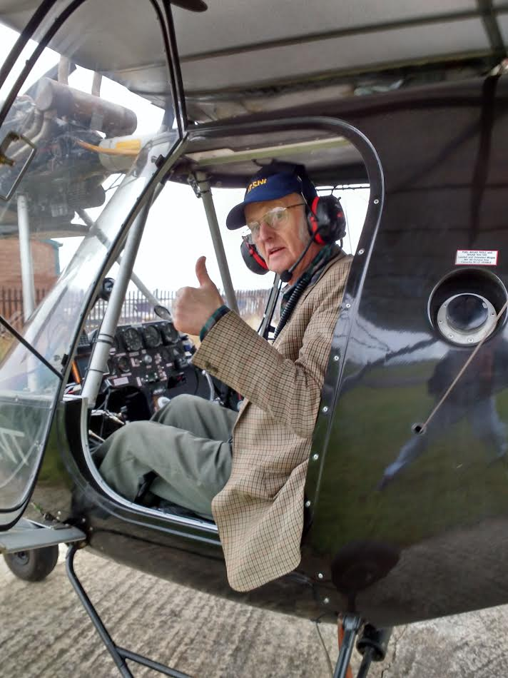 Brian Patton's First Solo at the age of 83