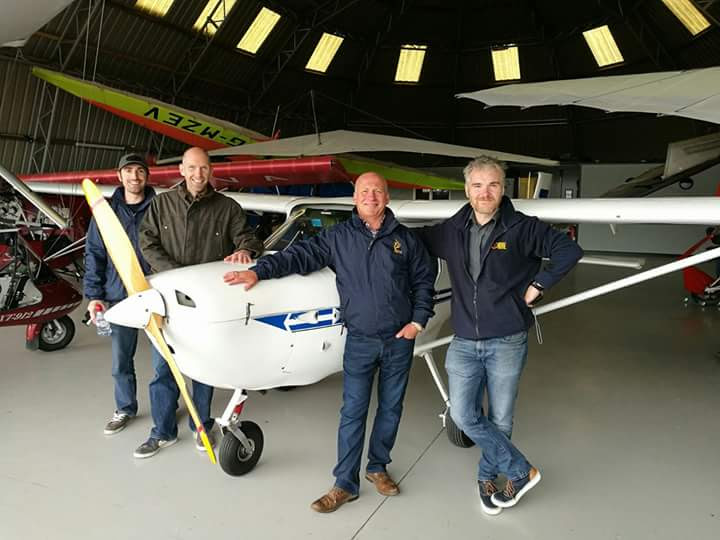 Student Pilots form a New Group at Newtownards