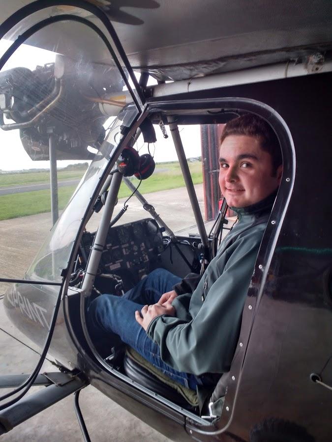 Clement Buchanan First Solo Flight
