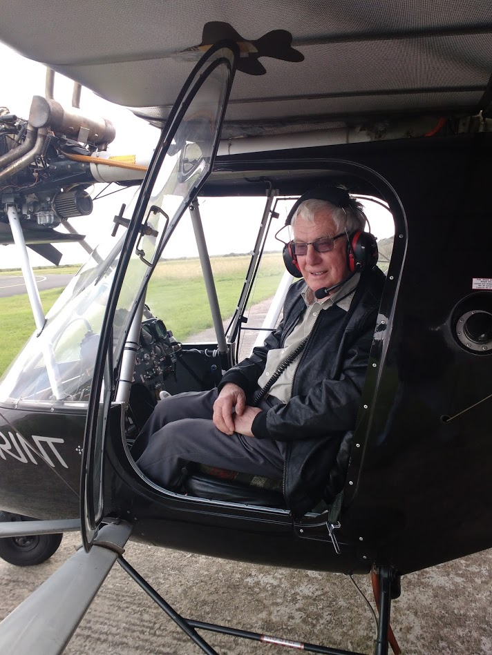 Roy Clarkson's First Solo flight.