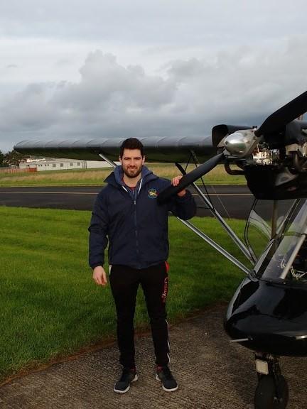 Ryan Molloy passes his General Skills Test