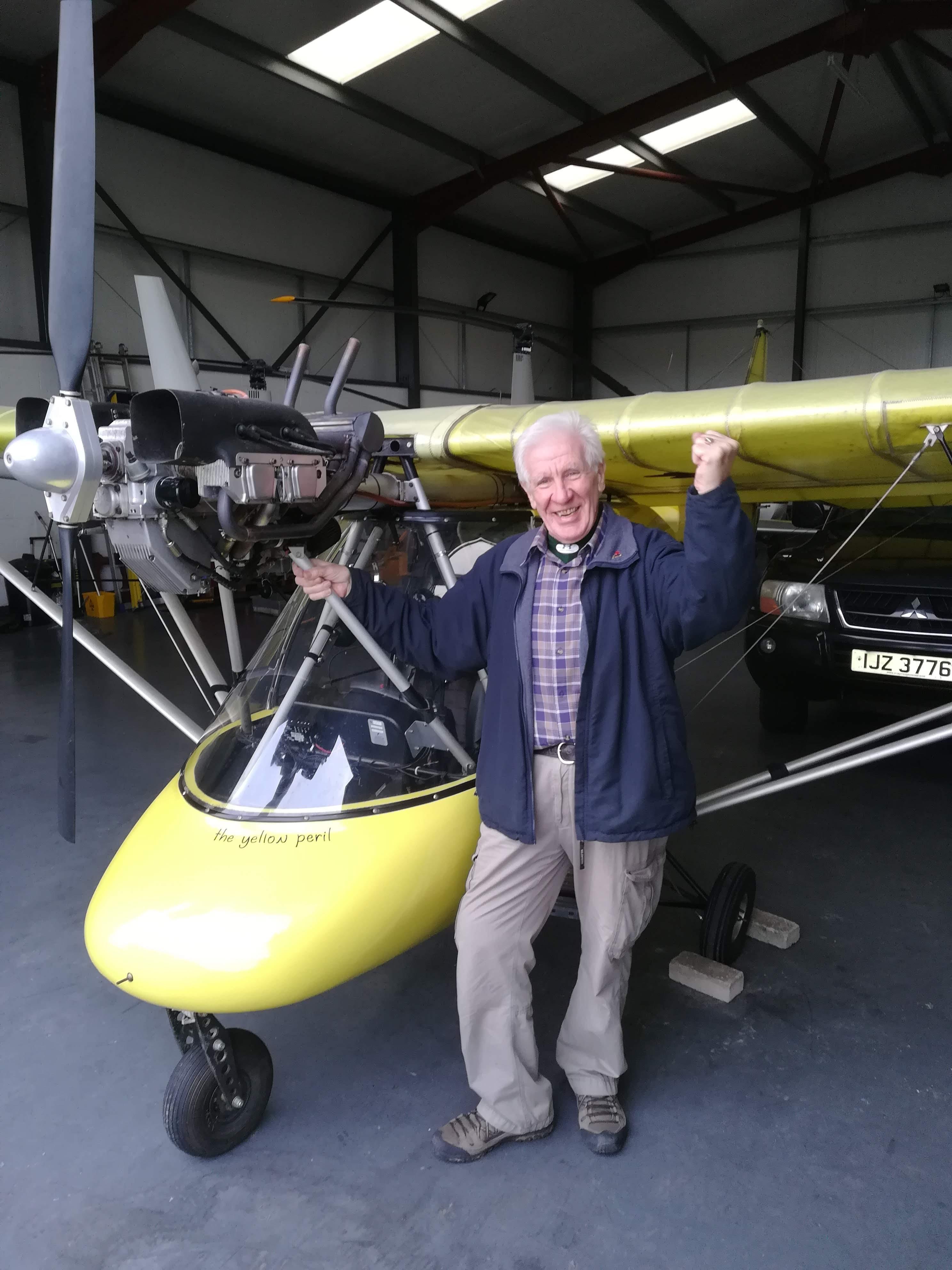 Joe McCarrison gets his Pilot's license and buys a plane