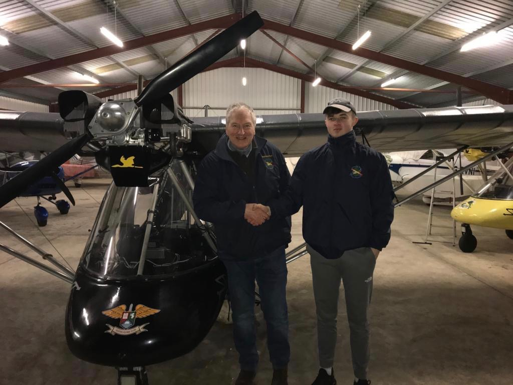 17 year old Sean Scullion Gets his Pilot's License