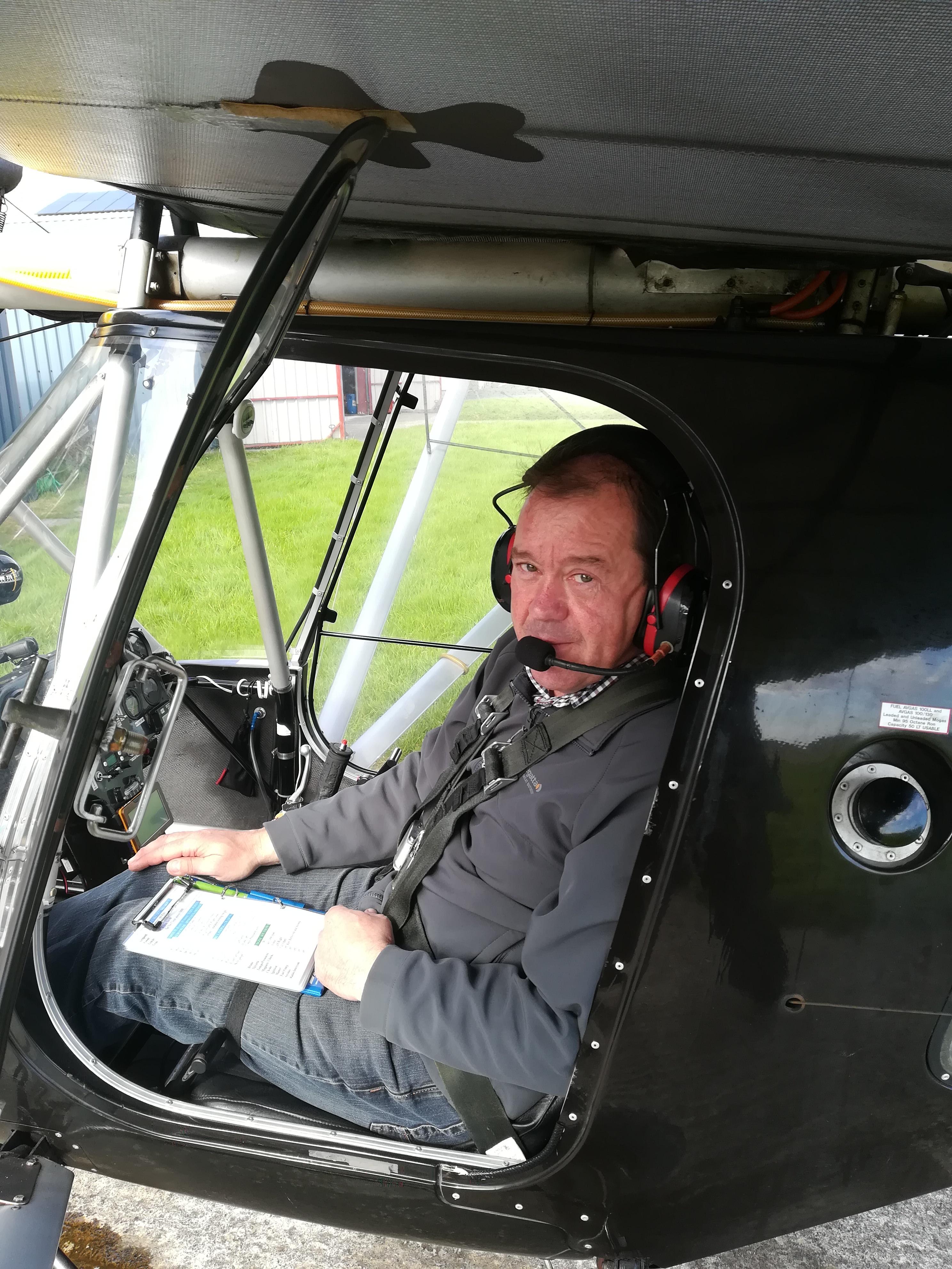 Sammy Nummy. First Solo Flight